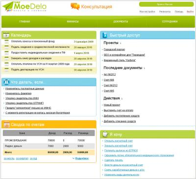 Онлайн бухгалтерия рейтинг изменения процесса регистрации ооо