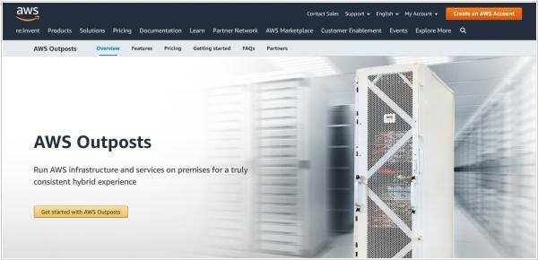 Облако Amazon теперь можно установить в собственном дата-центре