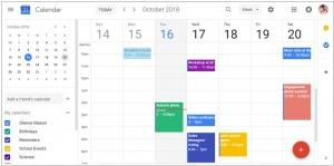 Google <i>заметок</i> Calendar