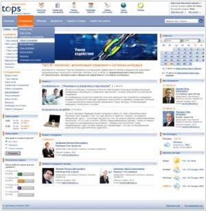 TopS BI Intranet Portal