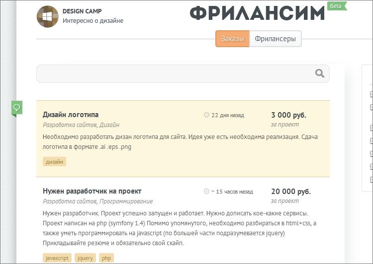 Фриланс заказы java работа журналист удаленная